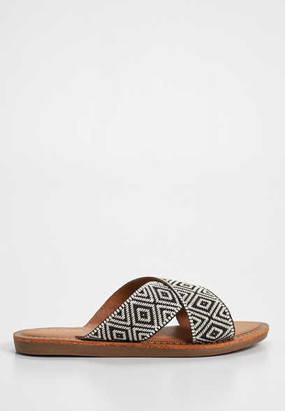 Suri diamond slide sandal