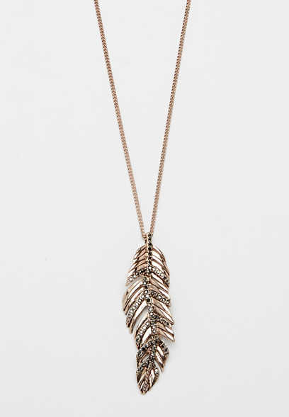 Maurices Fearless Vertical Pendant Necklace bXrHTPG