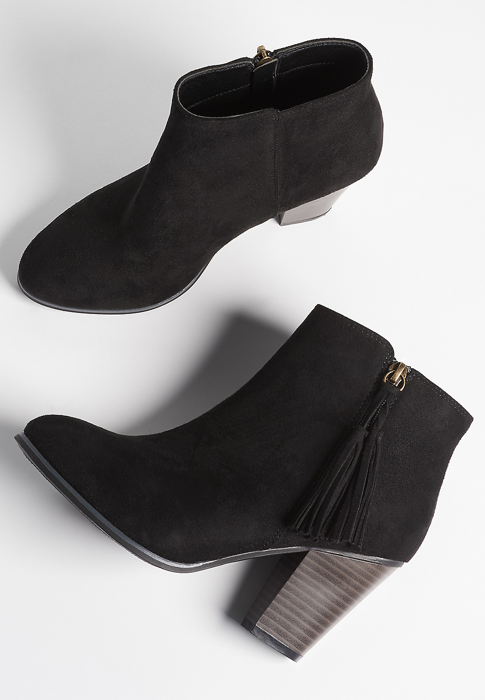 Image result for carmen tassel side zip bootie
