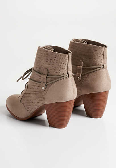 Carli lace up bootie