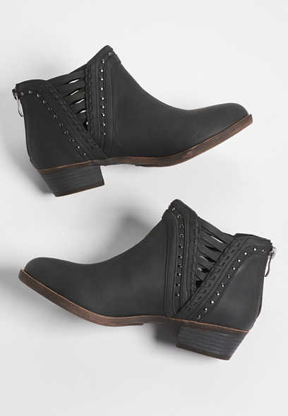 Chassie studded bootie