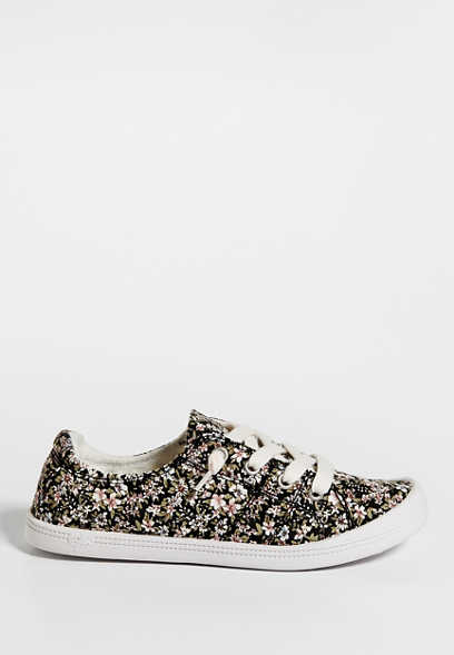 Hailey floral lace up sneaker