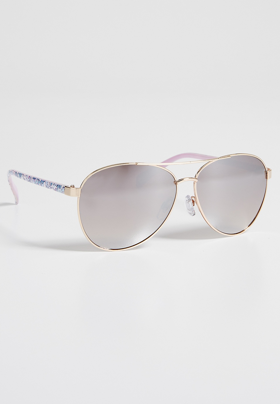2057f160fa0d aviator sunglasses in floral print