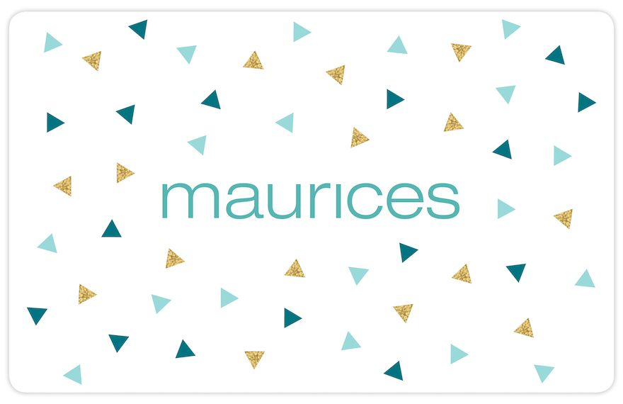maurices Confetti  Gift Card