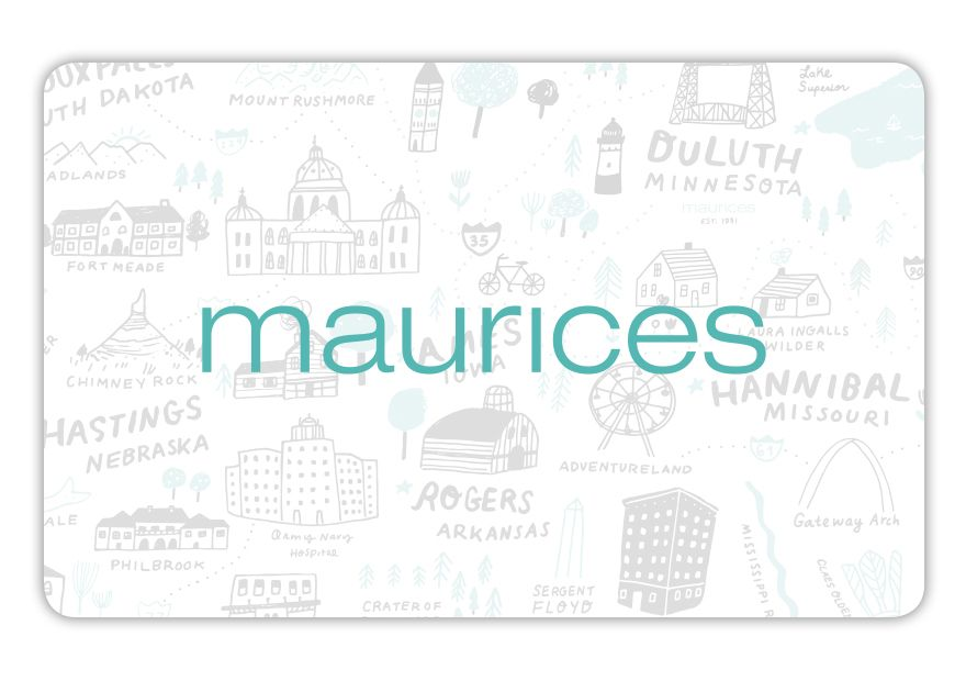 maurices eGC Thx maurices 17:C4902:NONE Gift Card