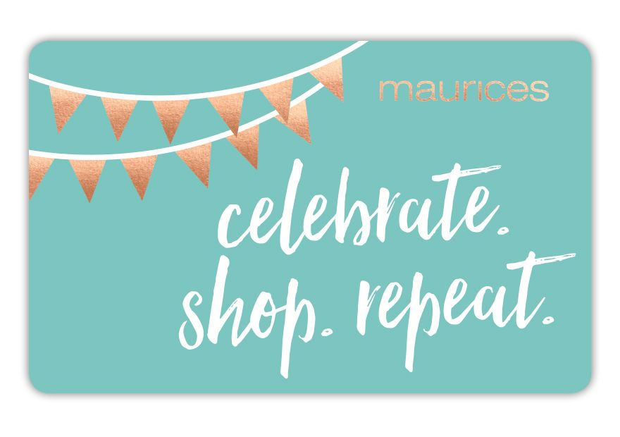 maurices eGC Repeat 17:C4902:NONE Gift Card