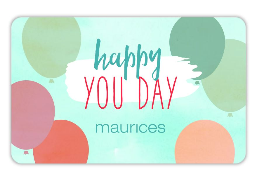 maurices SPR18_BD_HAPPY Gift Card
