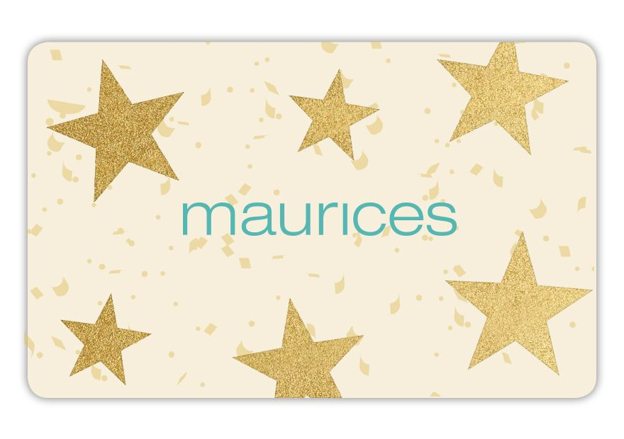 maurices SPR18_ED_STARS Gift Card