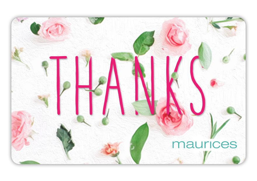 maurices SPR18_TY_THANKS Gift Card