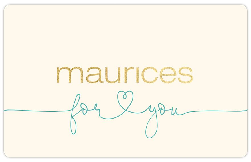 maurices For You Gift Card