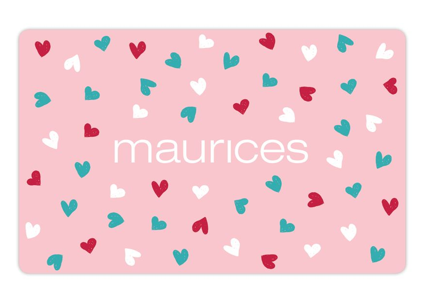 maurices Hearts Gift Card