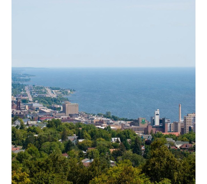 In the heart of Duluth