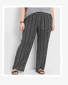 c14a2003750 Plus Size Pants