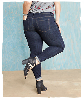 denim fit guide - jegging