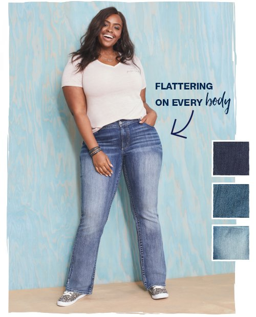 denim fit guide - slimboot