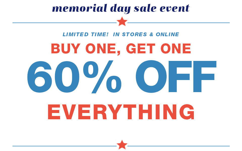 d0cdc0c8251 memorial day sale event
