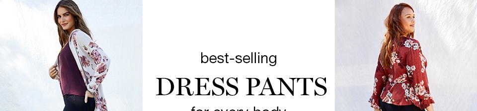 best-selling dress pants for every body in sizes 0-24