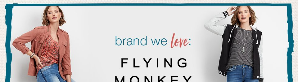 brand we love: flying monkey