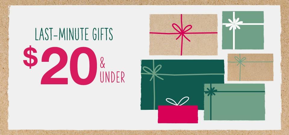 $5 gifts, $10 gifts, $15 gifts
