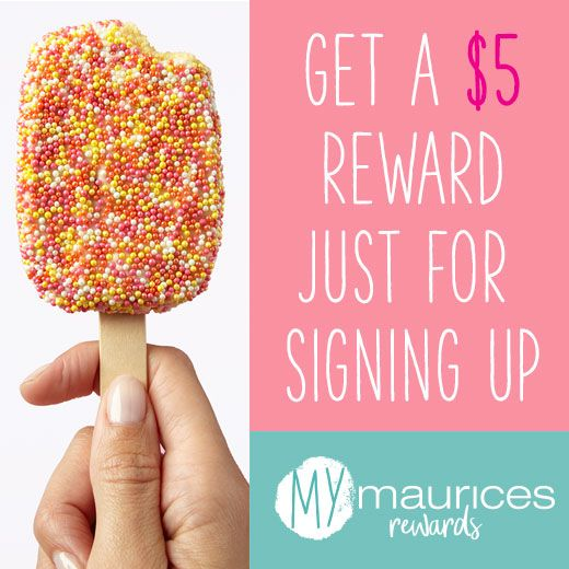 95e3001202f56 Get a  5 reward just for signing up. mymaurices rewards.